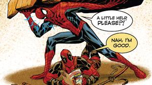 Comics Deadpool Funny Marvel Comics Spider Man 1920x1080 Wallpaper