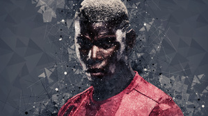French Manchester United F C Paul Pogba Soccer 3840x2400 Wallpaper