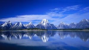 Nature Mountains Reflection Lake 3840x2160 Wallpaper