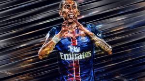 Argentinian Paris Saint Germain F C Soccer Angel Di Maria 3840x2400 Wallpaper