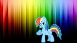 My Little Pony Rainbow Dash Vector 1920x1080 Wallpaper