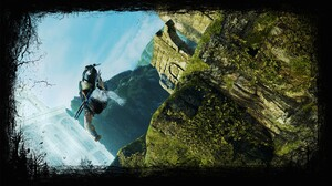 Talion Middle Earth Jump Middle Earth Shadow Of Mordor 1920x1080 Wallpaper