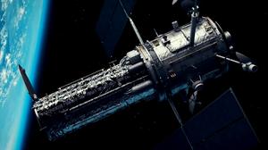 Satellite Stars Starscape Planet Telescope Hubble Space 1920x1080 Wallpaper