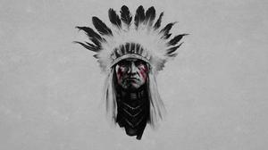 Artistic Native American 1920x1200 Wallpaper