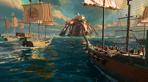 P Torinno Artwork Sailing Ship Digital Art Sea Ship Sailing Pirate Ship Pirate Flag Castle Reflectio 1920x1080 Wallpaper