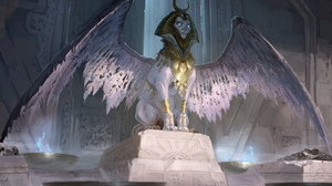 Creature Sphinx Wings 2475x1620 wallpaper