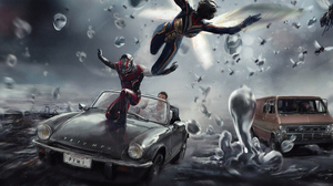 Ant Man Ant Man And The Wasp Marvel Comics Wasp Marvel Comics 3840x2160 wallpaper