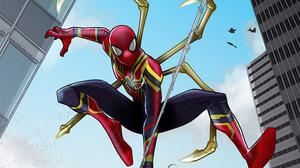 Marvel Comics Iron Spider 2978x1675 wallpaper