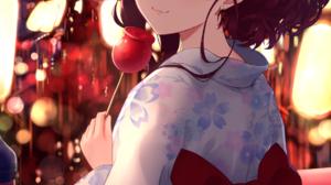 THE IDOLM STER THE IDOLM STER Cinderella Girls Ichinose Shiki Anime Anime Girls Fireworks Maitake Ma 1206x1817 Wallpaper