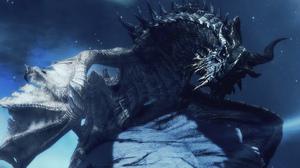 Dragon Night Sky Aurora Screen Shot Video Games Stars The Elder Scrolls V Skyrim Bethesda Softworks  1920x1200 Wallpaper