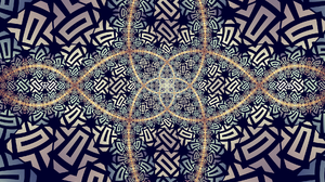 Artistic Symmetry Digital Art 1920x1080 wallpaper