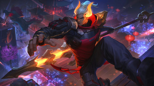 Jarvan IV League Of Legends Riot Games 7680x4320 Wallpaper