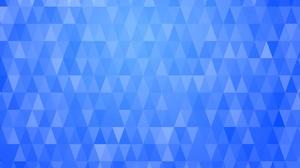 Blue Pattern Geometry 7680x4800 Wallpaper