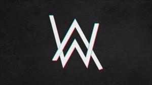 Alan Walker Black Logo 3844x2164 Wallpaper