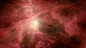 Nebula Orion Constellation Pink Space Stars 3220x2415 Wallpaper