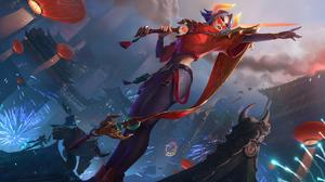 Fiora League Of Legends 3840x2244 Wallpaper