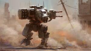 Sci Fi Robot 1600x833 wallpaper