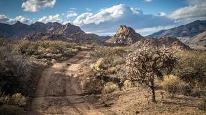 Road Mountain Nature Desert 3840x2160 Wallpaper