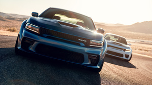 Blue Car Car Dodge Dodge Charger Dodge Charger Srt Dodge Charger Srt Hellcat Muscle Car Vehicle Whit 3000x2001 Wallpaper