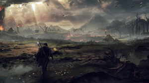 Middle Earth Shadow Of Mordor 7475x2615 Wallpaper