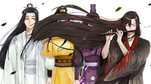 Lan Wangji Lan Zhan Wei Ying Wei Wuxian 2400x1259 Wallpaper
