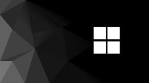 Windows 11 Gradient Polygon Art Minimalism 3840x2160 Wallpaper
