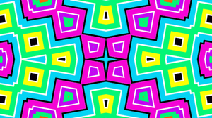 Colors Kaleidoscope Pattern Shapes Colorful 1920x1080 Wallpaper