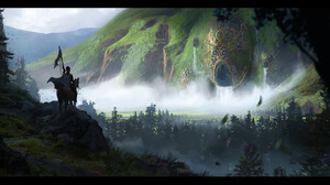 Artwork Digital Art Fantasy Art Knight 3840x1820 Wallpaper