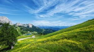 Austria Cloud Landscape Mountain Panorama Sky 4896x2760 Wallpaper