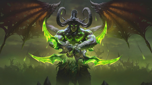 Illidan Stomrage Warcraft World Of Warcraft The Burning Crusade Warcraft World Of Warcraft 3932x1914 Wallpaper