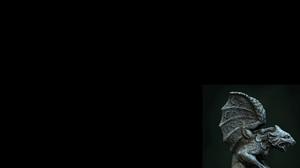 Fantasy Gargoyle 1600x1200 Wallpaper