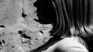 Women Lea Seydoux Actress Monochrome White Tops 1080x1350 wallpaper
