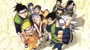 Gaara Naruto Hinata Hy Ga Itachi Uchiha Kakashi Hatake Naruto Uzumaki Rock Lee Sakura Haruno Sasuke  4000x2841 Wallpaper
