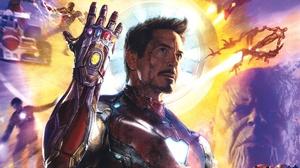 Avengers Endgame Infinity Gauntlet Iron Man Marvel Comics Robert Downey Jr 3700x3350 Wallpaper