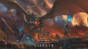 The Elder Scrolls Online The Elder Scrolls Online Elsweyr RPG Video Games PC Gaming 2019 Year Dragon 1920x1080 Wallpaper