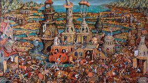 Battle Cgi Death Digital Art Fantasy Funny Painting Sword 2000x1274 Wallpaper