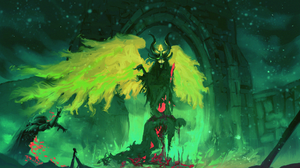 Creepy Demon Wings 1920x1160 Wallpaper
