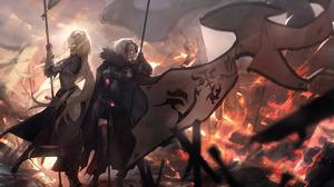 Avenger Fate Grand Order Ruler Fate Apocrypha Jeanne D 039 Arc Fate Series Jeanne D 039 Arc Alter Ba 3541x2508 Wallpaper