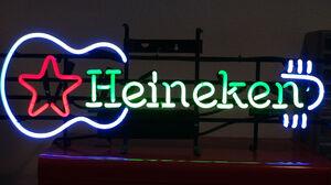 Beer Beer Sign Guitar Neon Neon Sign Sign 1920x1440 Wallpaper