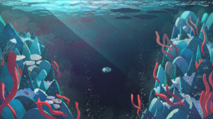 Water Fish Coral Reef Coral Underwater Tristan Gion Sea 1920x1080 Wallpaper