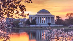 Architecture Memorial Usa Washington 2560x1600 Wallpaper