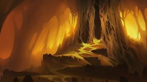 Cave Dark 2356x1080 Wallpaper