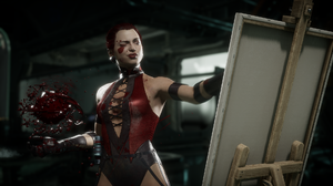 Mortal Kombat 11 Video Games Video Game Girls Video Game Characters Screen Shot Skarlet Warrior Girl 1920x1080 Wallpaper