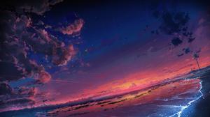 Beach Cloud Scenic Sky Sunset 1920x1152 Wallpaper