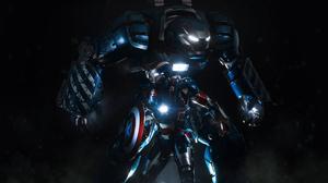 Iron Man 3 Iron Patriot 1920x1200 Wallpaper