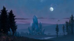 Fantasy Landscape 2304x1296 Wallpaper