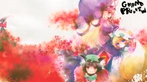 Chen Touhou Ran Yakumo Yukari Yakumo 4136x2960 Wallpaper