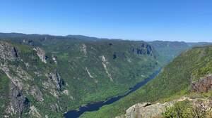 Nature River Quebec Summit 4032x3024 Wallpaper
