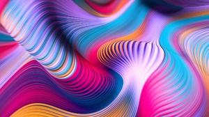 Wave Artistic Digital Art 2560x1600 Wallpaper