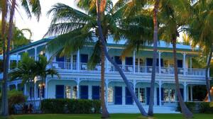 House Mansion Palm Tree 2700x1800 Wallpaper